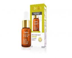 Arc- és nyakszérum 5% mandulasavval – bőrkisimító hatással Delia