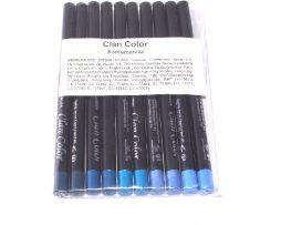 Konturceruza ceruzahegyező kék mix